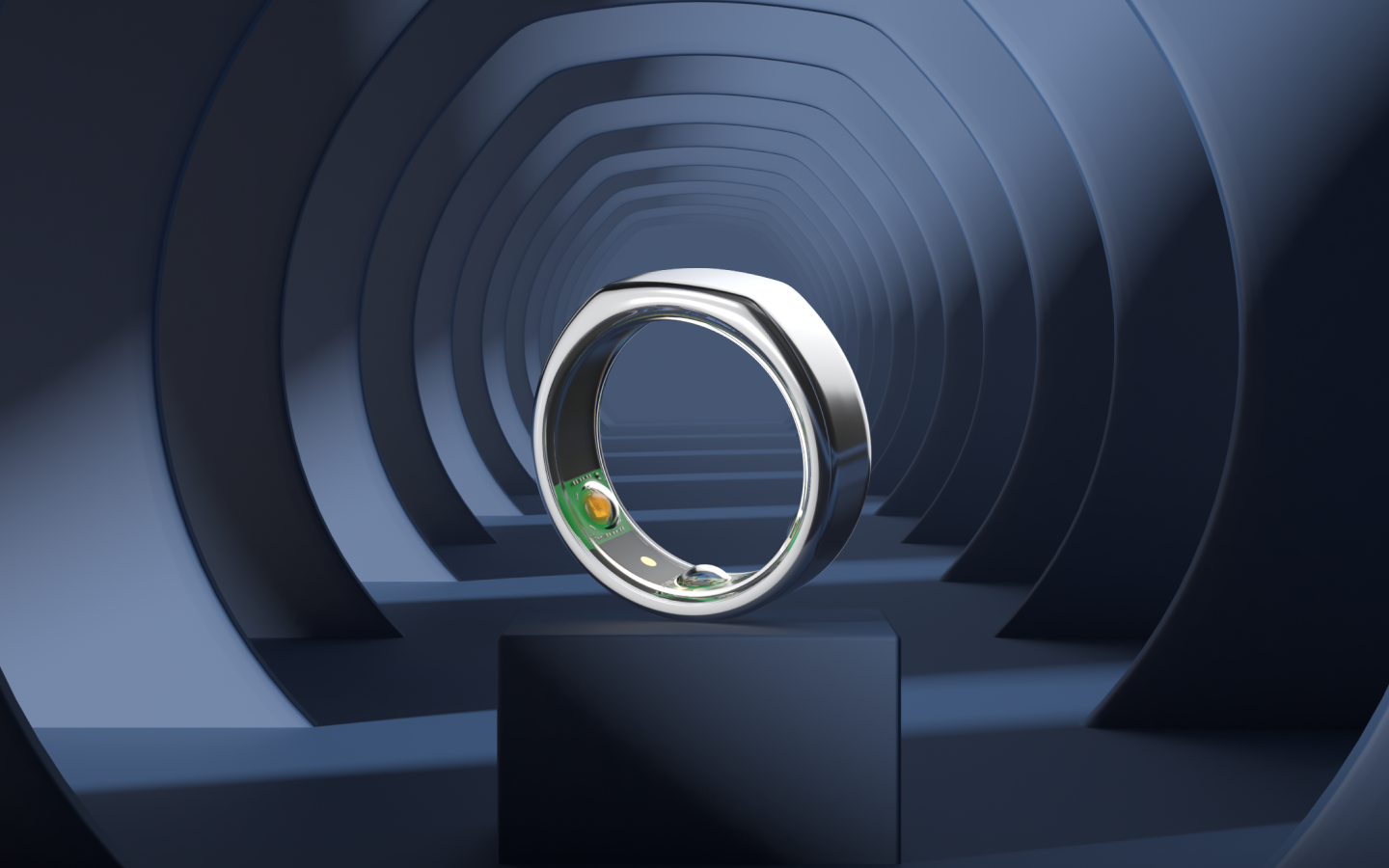 Heritage Silver Oura Ring